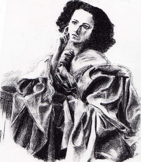 Sarah Bernhardt par Rochelle